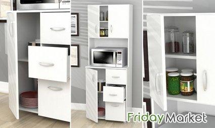 Tall Kitchen Storage Cabinet Furniture في الإمارات - سوق الجمعة